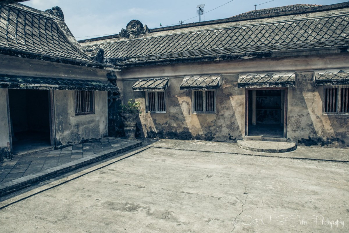 One of the ruins deep in the network of tunnels inside Taman Sari. Yogyakarta, Java, Indonesia