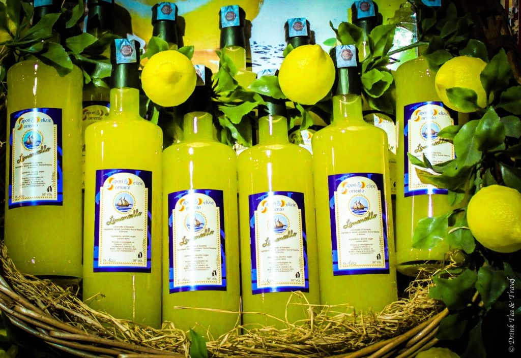Limoncello on Sorrento, Amalfi Coast, Italy