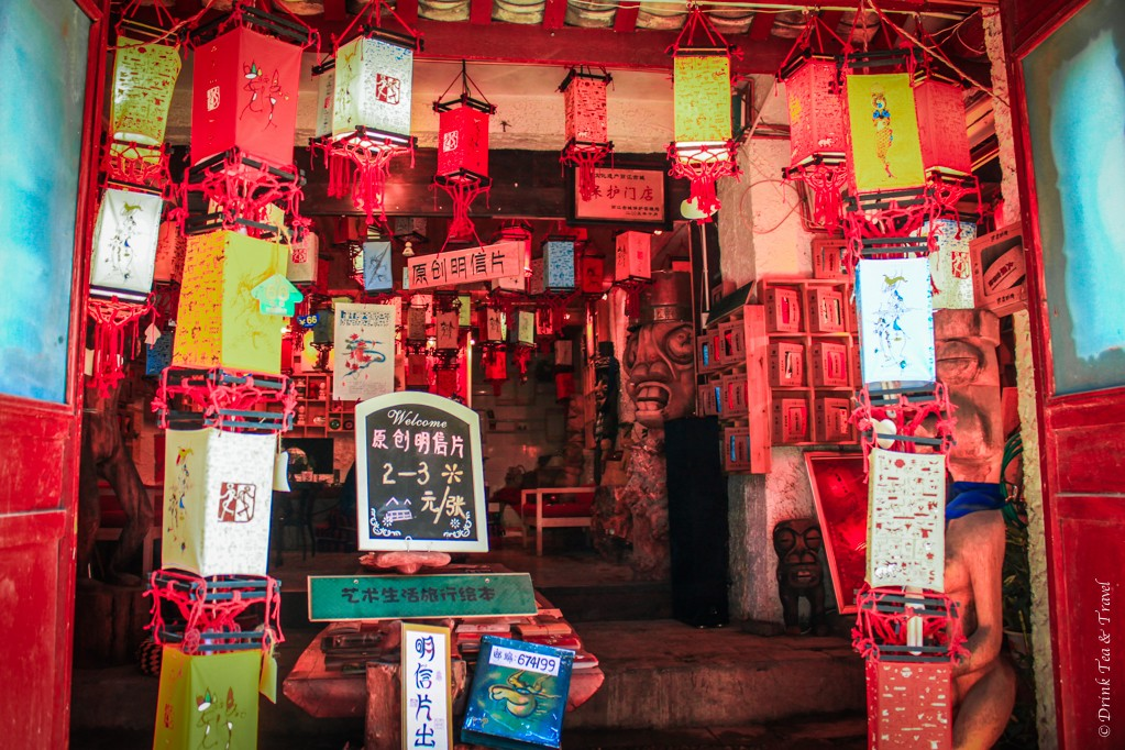 Lantern shop, Lijiang, China