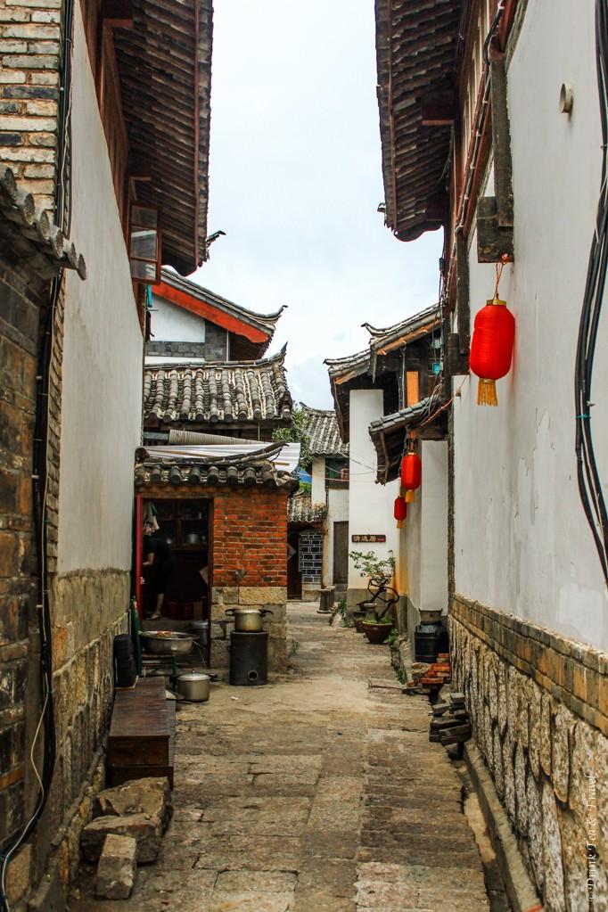 Laneway in Lijiang, China