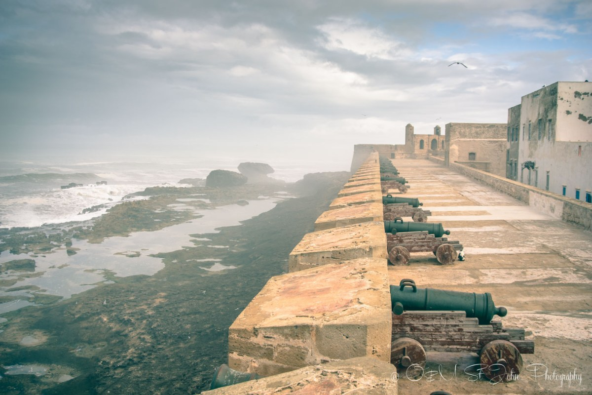 Essaouira's fortress. Morocco