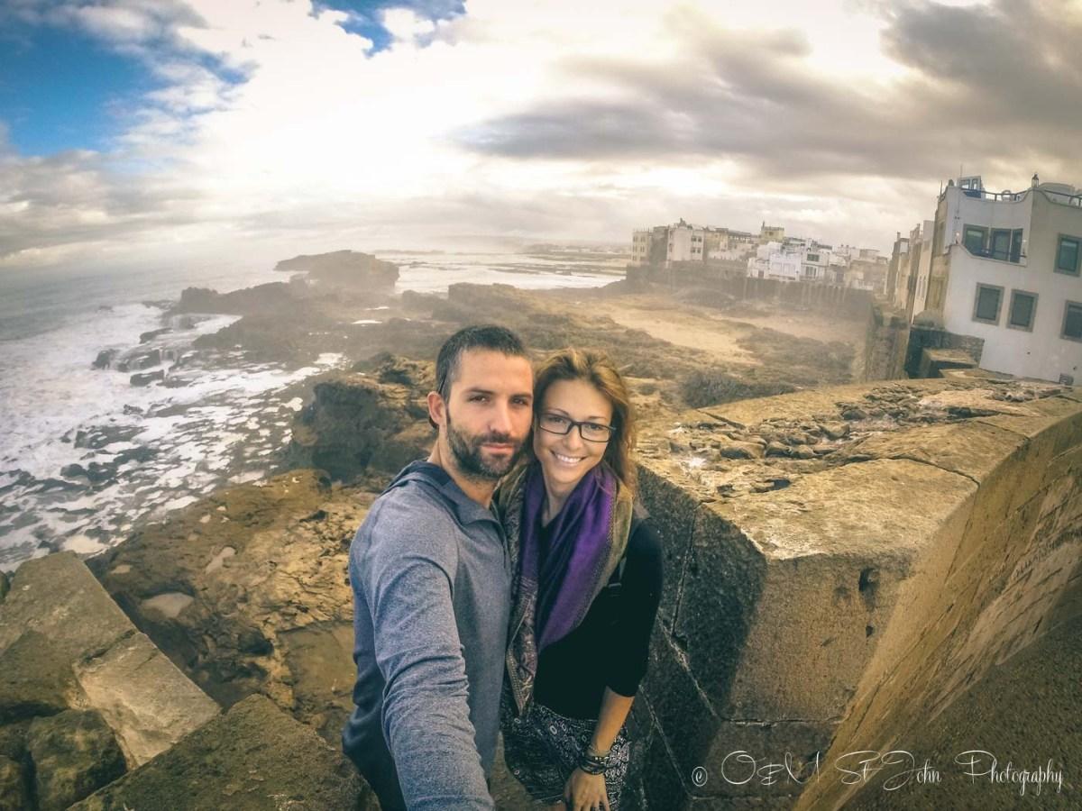 Max & Oksana in Essaouira, Morocco