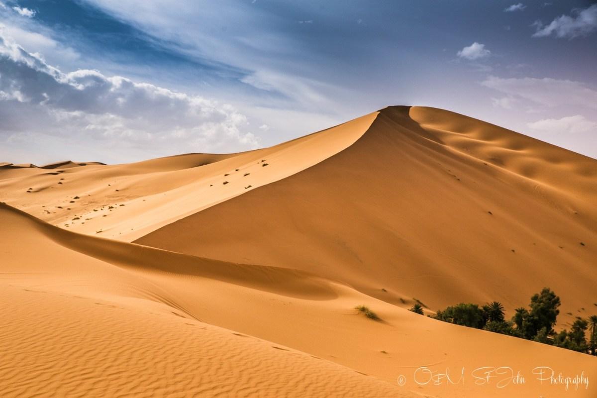 Erg Chebbi, Sahara Desert. Morocco