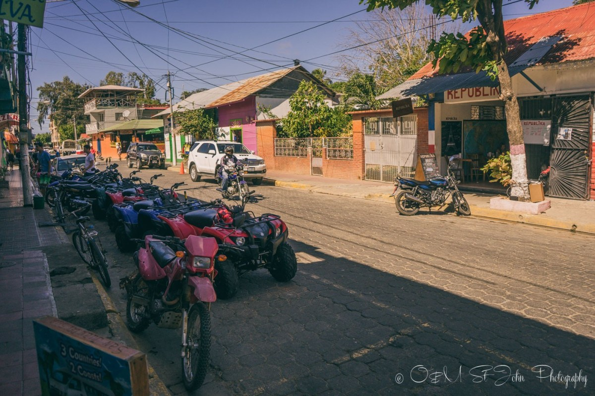ATVs and Motorcycles for rent in San Jun del Sur, Nicaragua