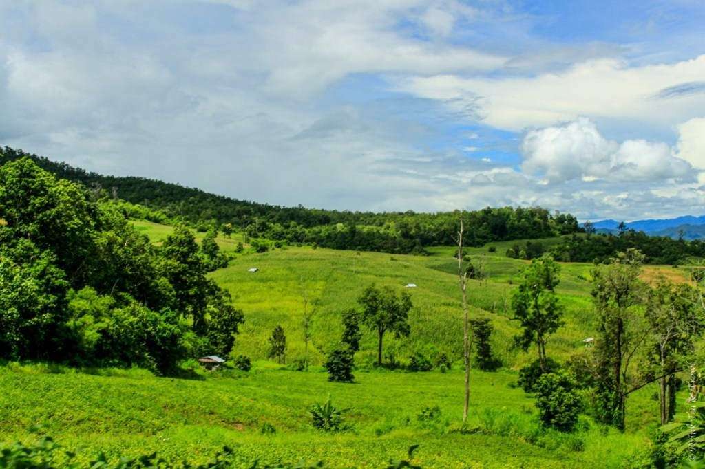 Beautiful views of Pai country side