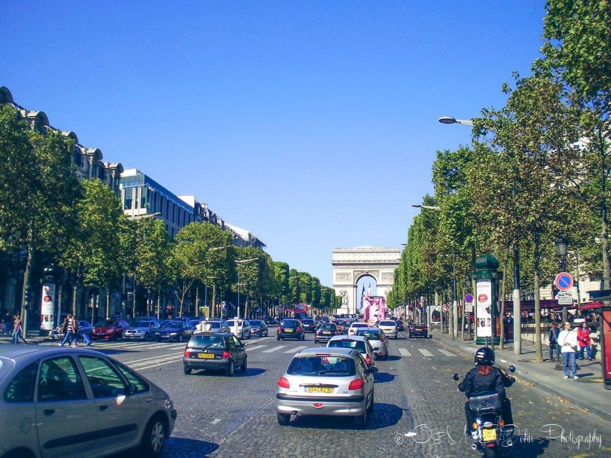 Champs Elyse, Paris. France. Europe