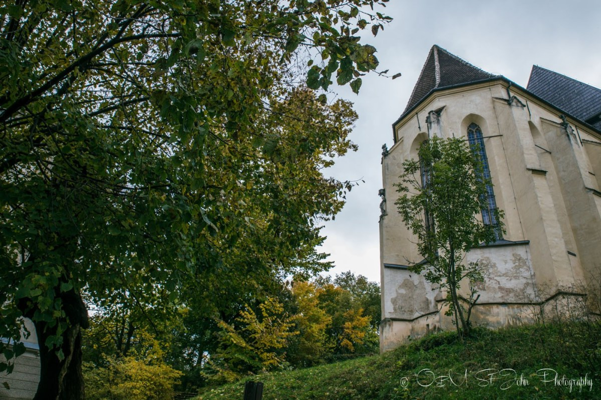 Church on the Hill, Biserica din Deal. Sighisoara. Romania