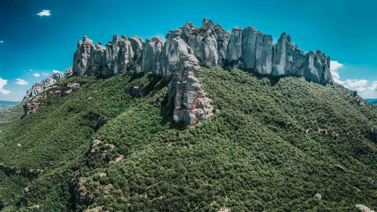 Monserrat Mountain, Barcelona
