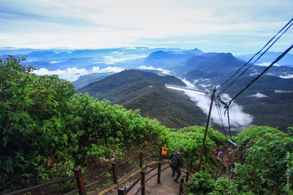 The trail to Adam's Peak