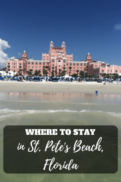 Where to Stay in St Pete's Beach, Florida