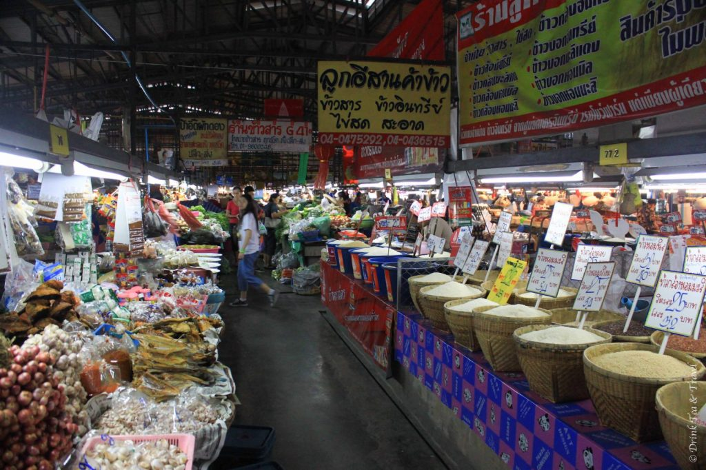 Produce market, Chiang Mai, Thailand - Cultural experiences in Thailand