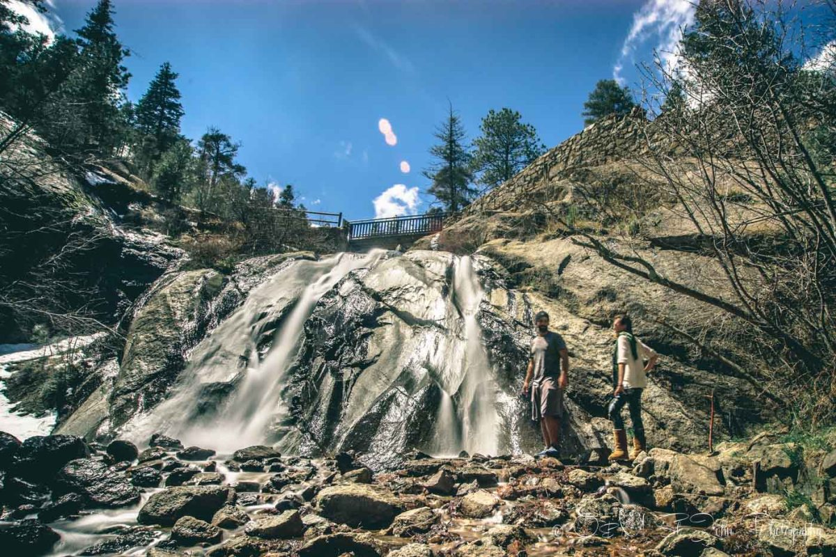 Helen Hunt Falls, Colorado, USA Road Trip