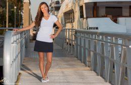 Angela Orecchio from the Yachtie Glow