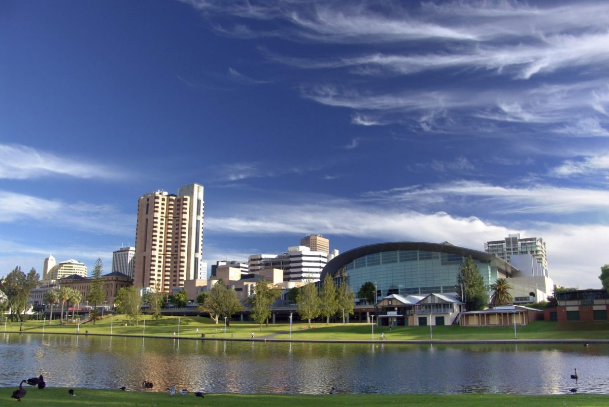 City of Adelaide. River Torrens. Australia. Photo via Working Adventures