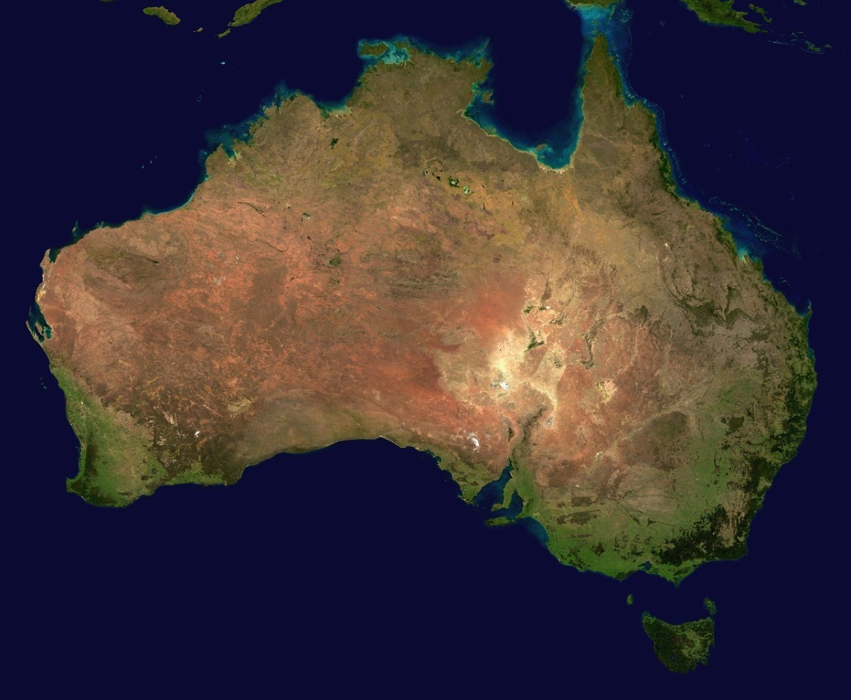 Australia travel tip: Australia is huge!