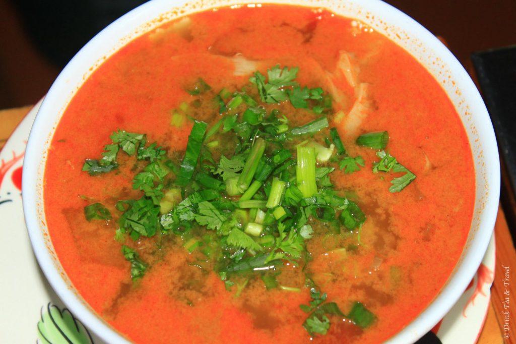 Top Yum Soup, Thai Farm Cooking School
