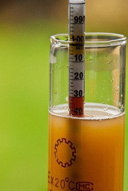 How to use a hydrometer for beer
