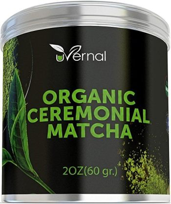 uVernal Organic Ceremonial Matcha Green Tea Powder