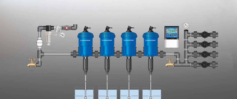 Dripstone Nutrients - Dosatron Injector setup