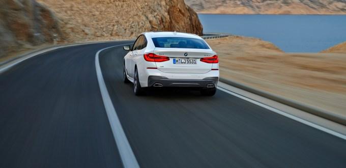 BMW 6er Gran Tourismo, 640i xDrive, Mineralweiß, M Sportpaket - IN TV IL 1 LUGLIO