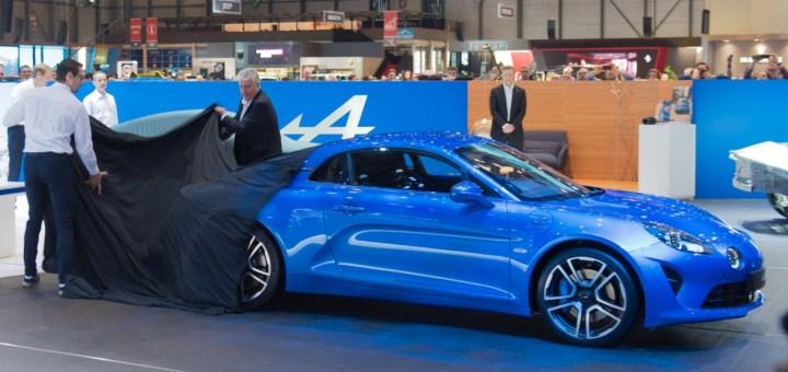 ALPINE A110 - Geneva International Motor Show 2017 - GIMS 2017 - Palexpo - IN TV SU DRIVELIFE DEL 18MARZO