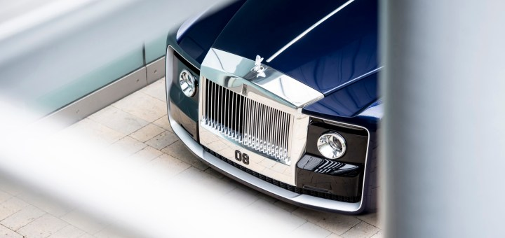 "ROLLS-ROYCE ""SWEPTAIL"" - IN TV 3 GIUGNO"