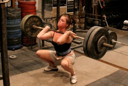 The front squat: Commonly used at Driveline Baseball.