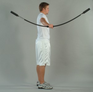 Demonstration of Rhythmic Stabilization for Baseball Players with the Oates Shoulder Tube