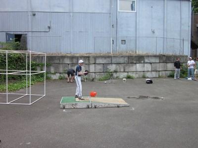 Pitcher Throwing off Mound