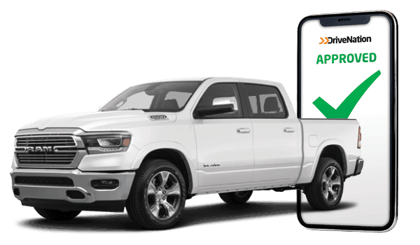 Truck In Front Of Phone