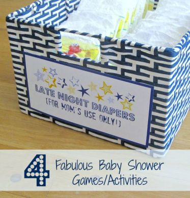 Four Fabulous Baby Shower Games   Activities   Driven by Decor Four of the Best Baby Shower Games and Activities