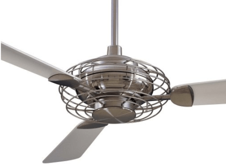 Ten Great Ceiling Fans   Driven by Decor Acero fan without light