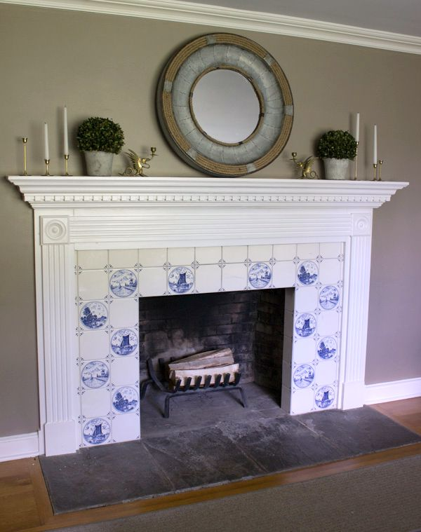 Our New Fireplace Tile Surround Driven By Decor