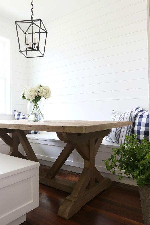 Favorite Farmhouse Trestle Tables Amp Progress On Our