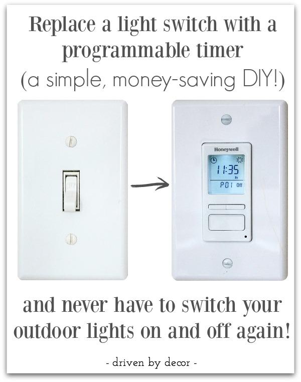 the best outdoor light timer my