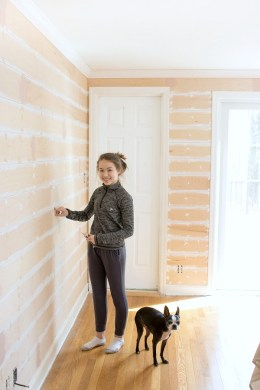 How to DIY Shiplap Walls on the Cheap    Driven by Decor DIY tutorial on installing shiplap walls