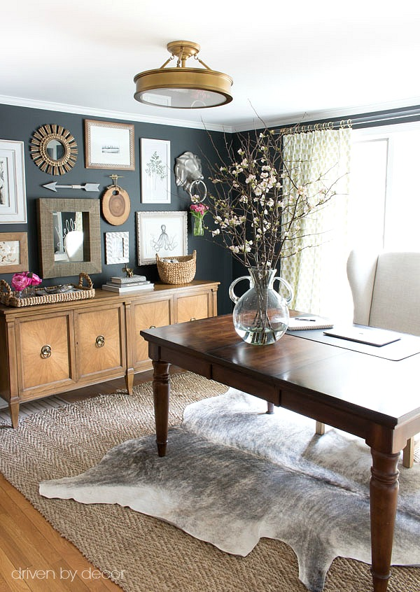 How To Create A Gallery Wall Tips Amp My Home Office Art