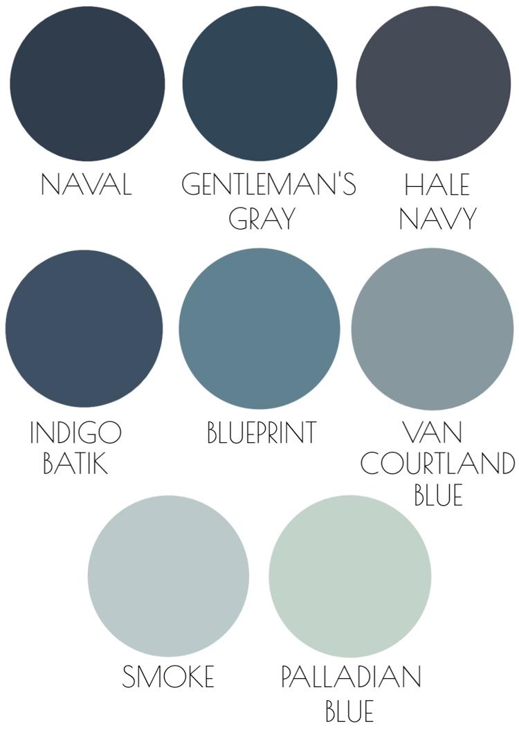 The 8 Best Blue Paint Colors Readers Favorites Driven By Decor