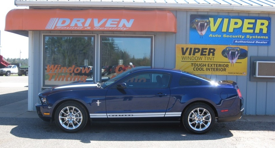 Ford Mustang Window Tint Installation Thrills Marquette Client