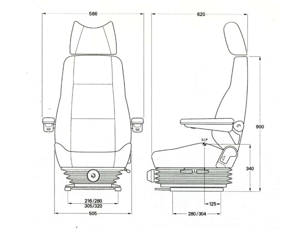 Kab 414 Seat