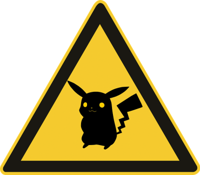 Pokémon Go – WARNING!