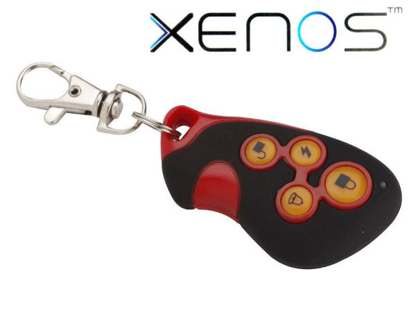 Xenos Motorcycle Security Alarm System