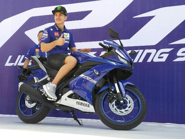 Image result for Yamaha R15 V3 MotoGP India launch
