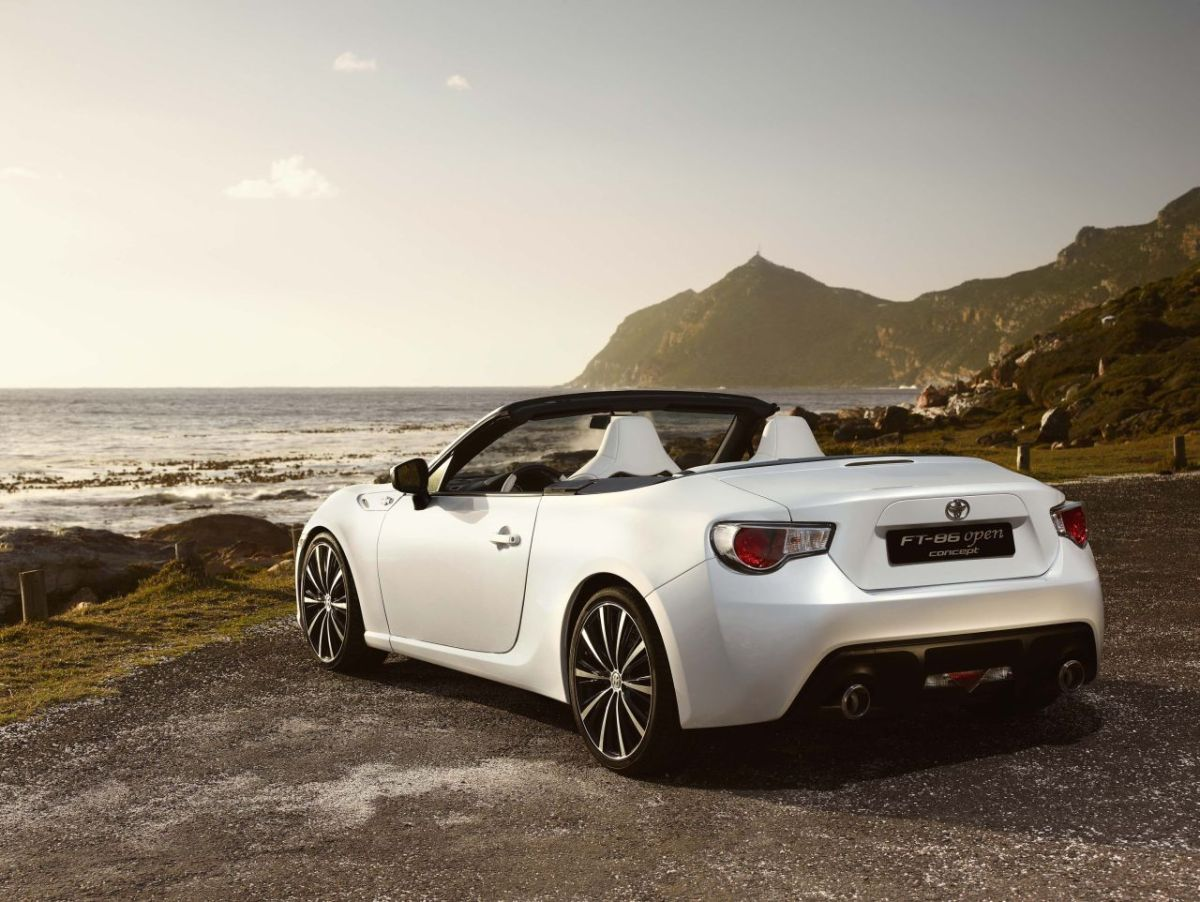 Toyota FT-86 Open Concept GT-86 Cabriolet 8