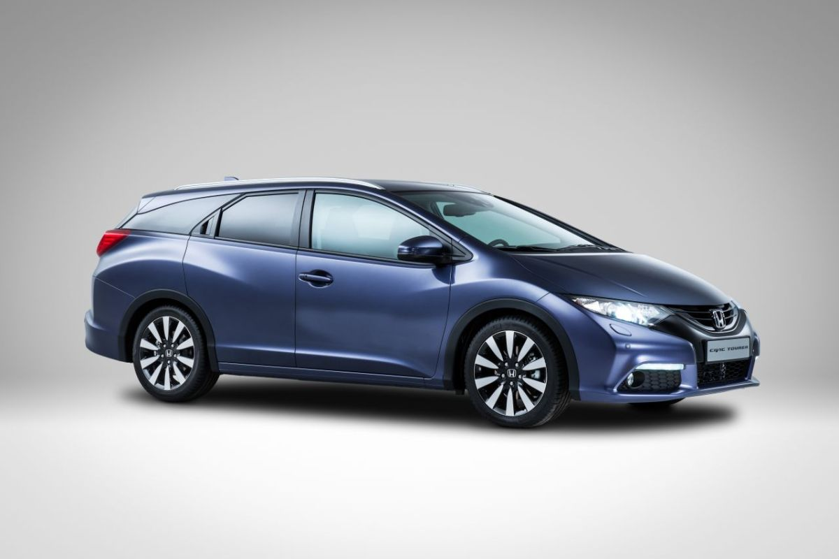 Honda Civic Tourer blauw 2014 02