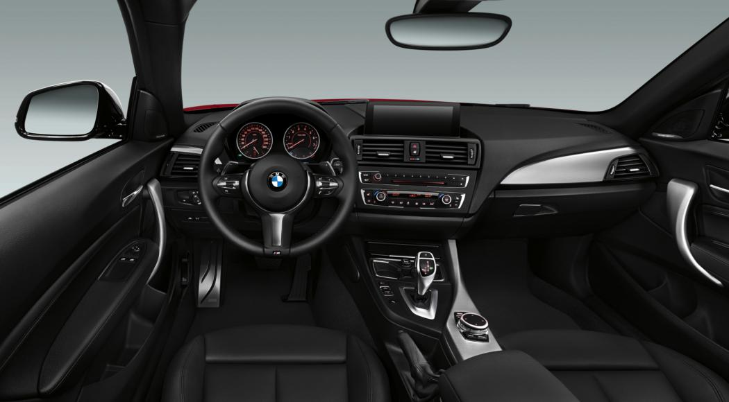 BMW 2-serie coupe M235i rood 2014 13