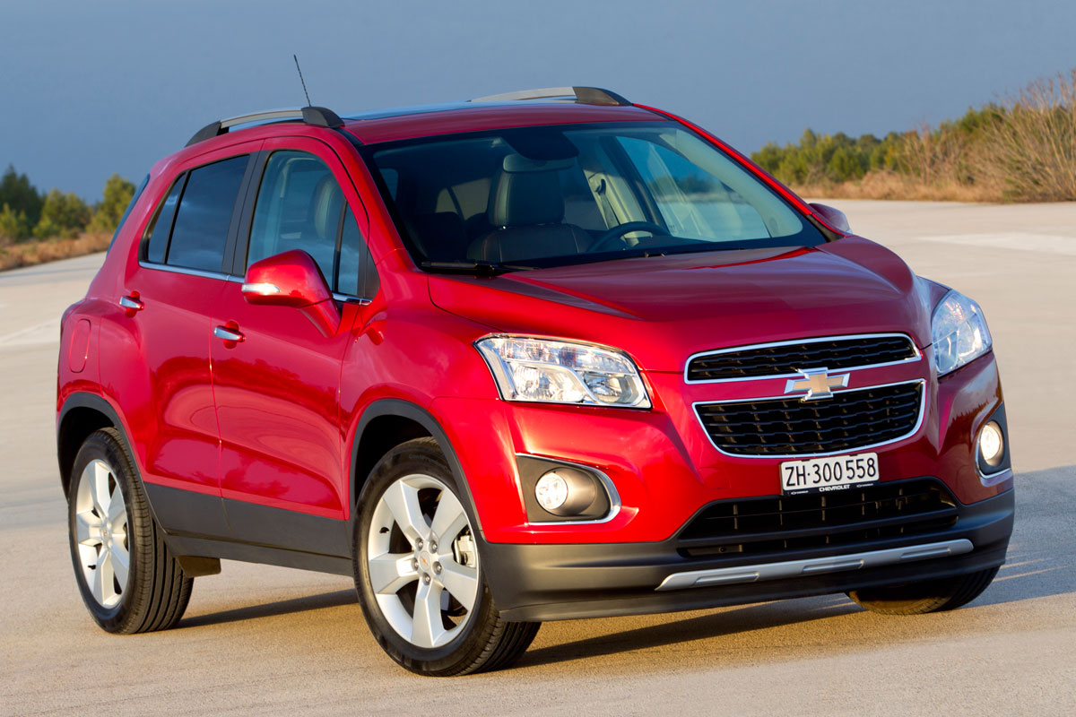 Chevrolet Trax FWD 1.4 Turbo rood 2014 01