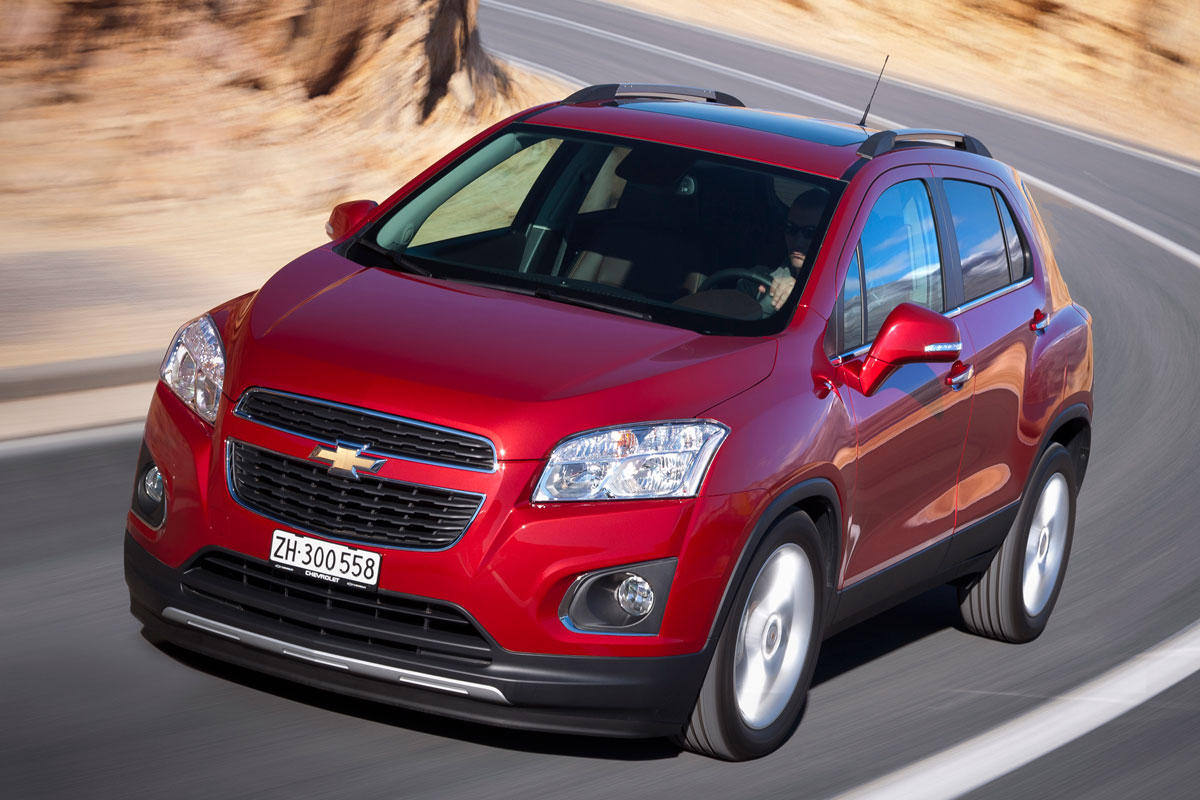 Chevrolet Trax FWD 1.4 Turbo rood 2014 02