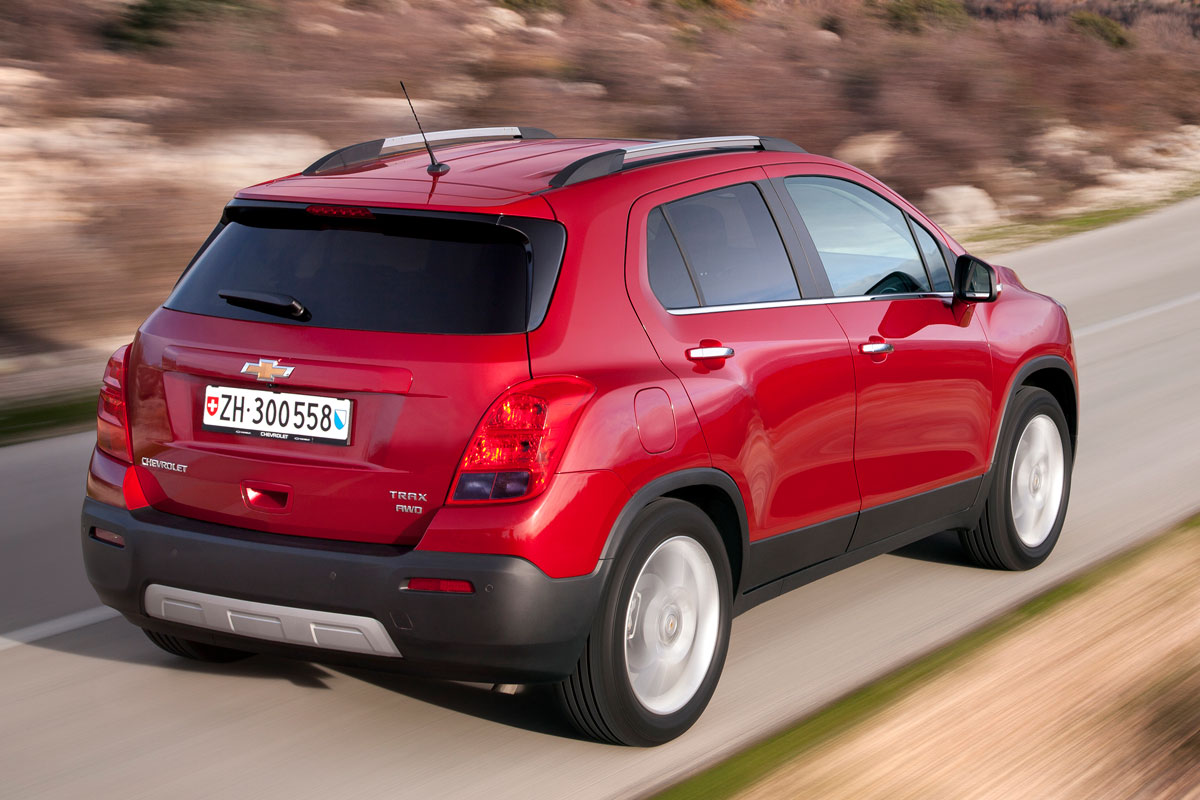 Chevrolet Trax FWD 1.4 Turbo rood 2014 03