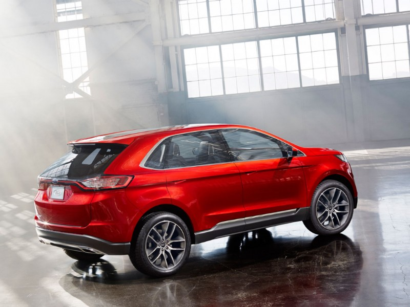 Ford Edge Europa Concept rood 2015 01